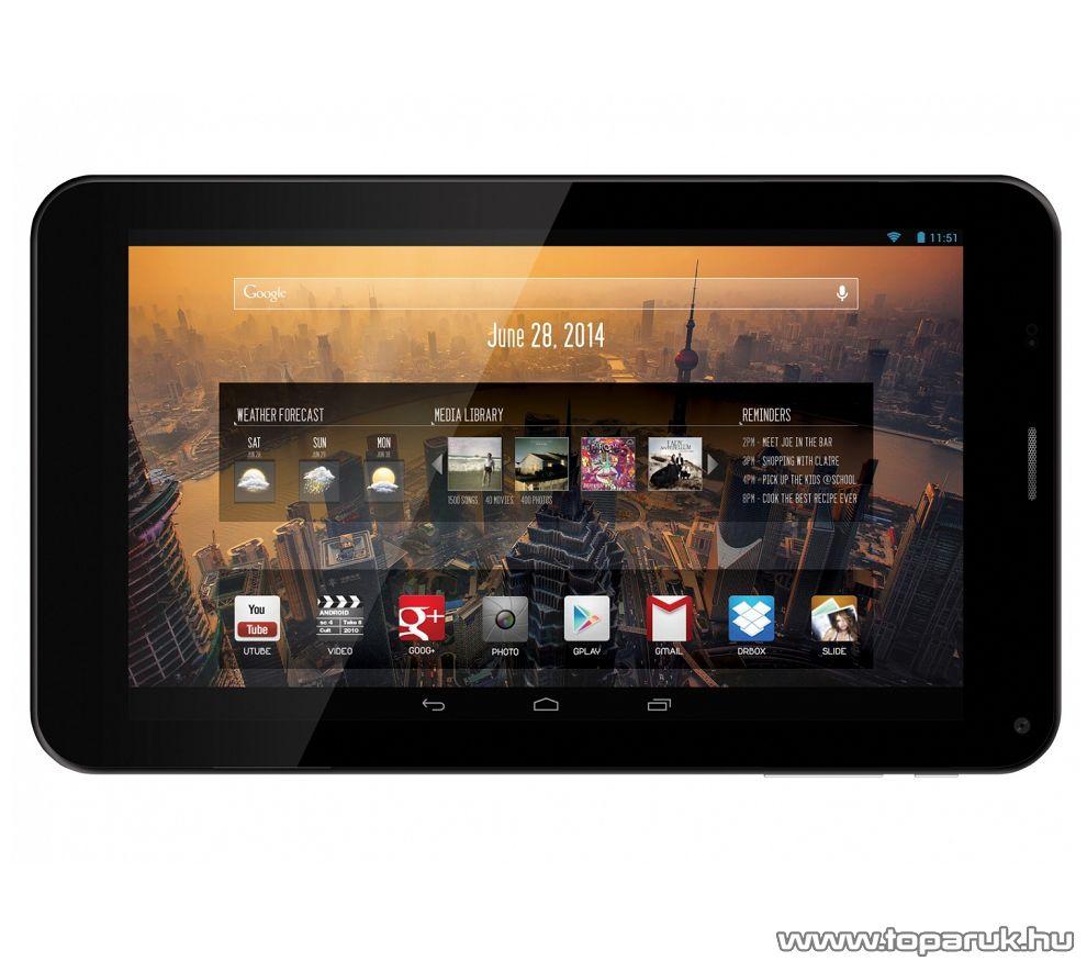 """WayteQ xTAB-7X 7""""-os tablet, 4GB, fekete (Android) - megszűnt termék: 2016. január"""