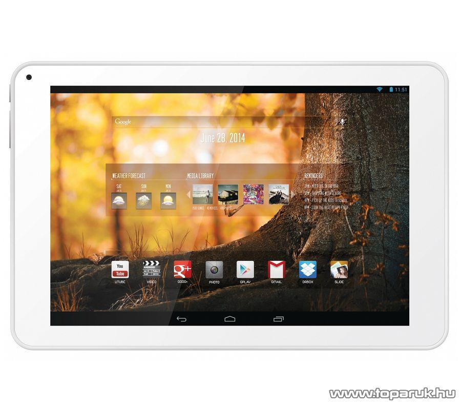"""WayteQ xTAB 9 PLS 9""""-os tablet, 8GB, fehér (Android) - megszűnt termék: 2015. január"""