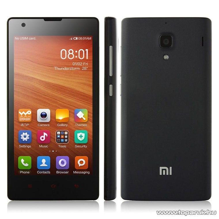 Xiaomi Redmi 1S (Dual SIM) kártyafüggetlen okostelefon, 8GB, fekete (Android) - megszűnt termék: 2016. március