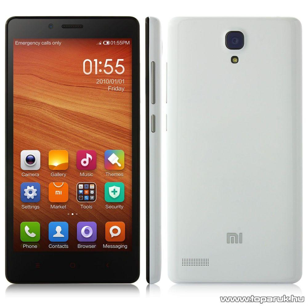 Xiaomi Redmi Note 4G kártyafüggetlen phablet okostelefon, 8GB (Android)