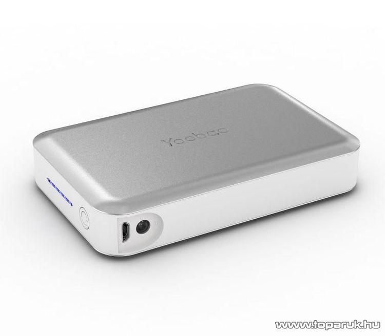 YooBao Magic Cube II 13000 Power Bank univerzális energiaforrás + LED lámpa, 13000 mAh - készlethiány