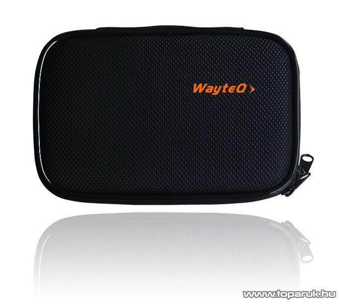 """Wayteq 4,3""""-os Védőtok (gyöngyvászon hordtáska) Wayteq X820 és X850 készülékekhez - megszűnt termék: 2016. szeptember"""