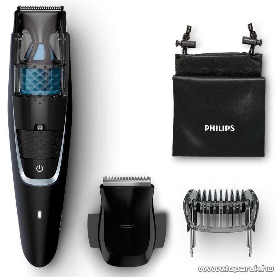 Philips BT7205/15 Beardtrimmer Series 7000 Vákuumos szakállvágó