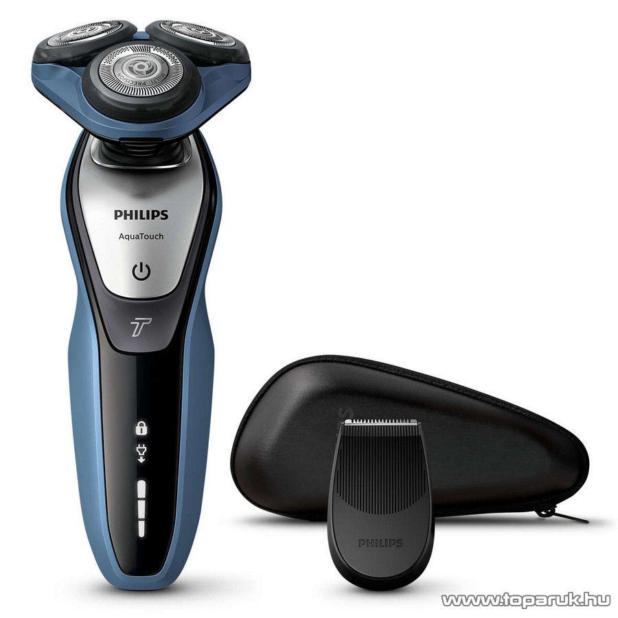 Philips S5620/12 AquaTouch száraz és nedves elektromos borotva védőtokkal