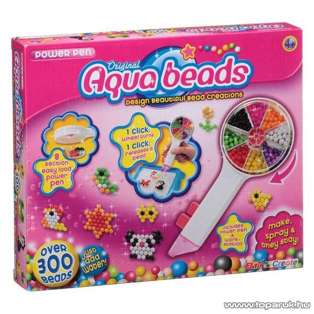 Aqua Beads Szuper toll szett - készlethiány