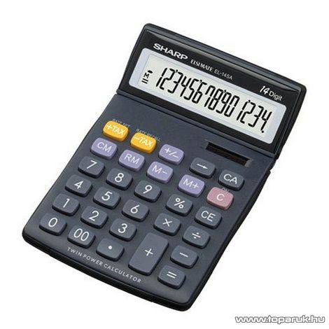 Sharp EL145A Asztali számológép