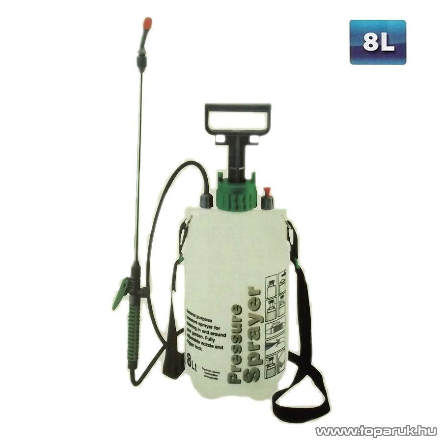 GardenMaster GM-06036 Nagynyomású kézi permetező, 8 liter - készlethiány