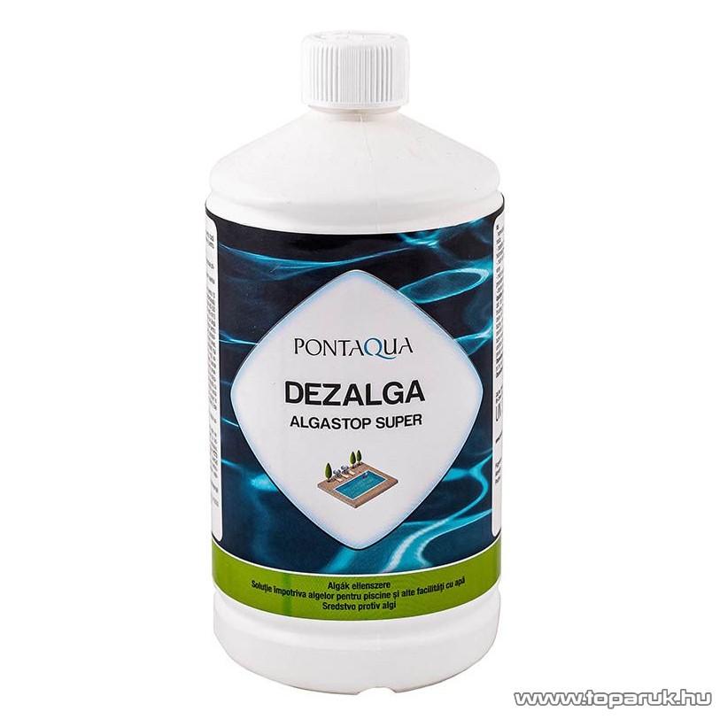 PoolTrend / PontAqua ALGASTOP SUPER (dezalga) habzásmentes medence algaölő szer, mindegyik fajta alga ellen, 1 l