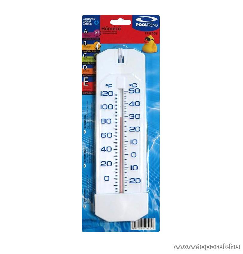 POOLTREND FFH 008 Létrához kiköthető, lemerülő medence hőmérő