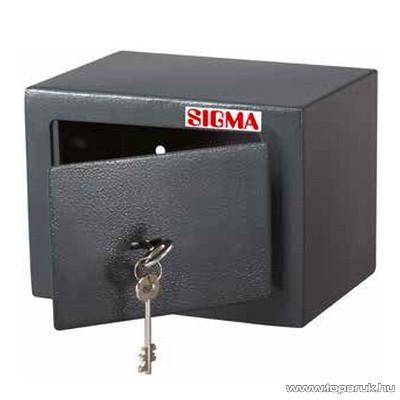 Sigma KSF2317 Kulcsos mini széf, bútorszéf