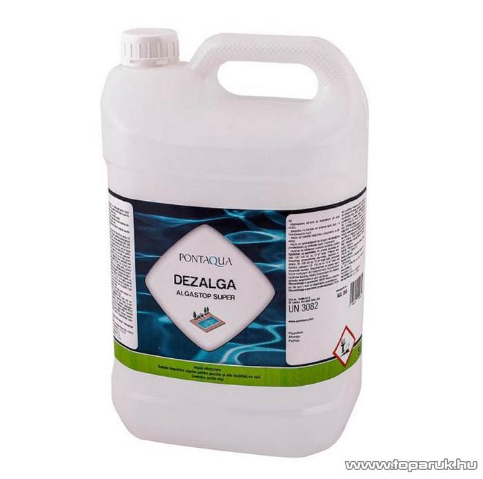PoolTrend / PontAqua ALGASTOP SUPER (dezalga) habzásmentes medence algaölő szer, mindegyik fajta alga ellen, 5 l