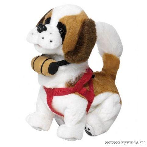 Samby interaktív plüss bernáthegyi kutya - készlethiány