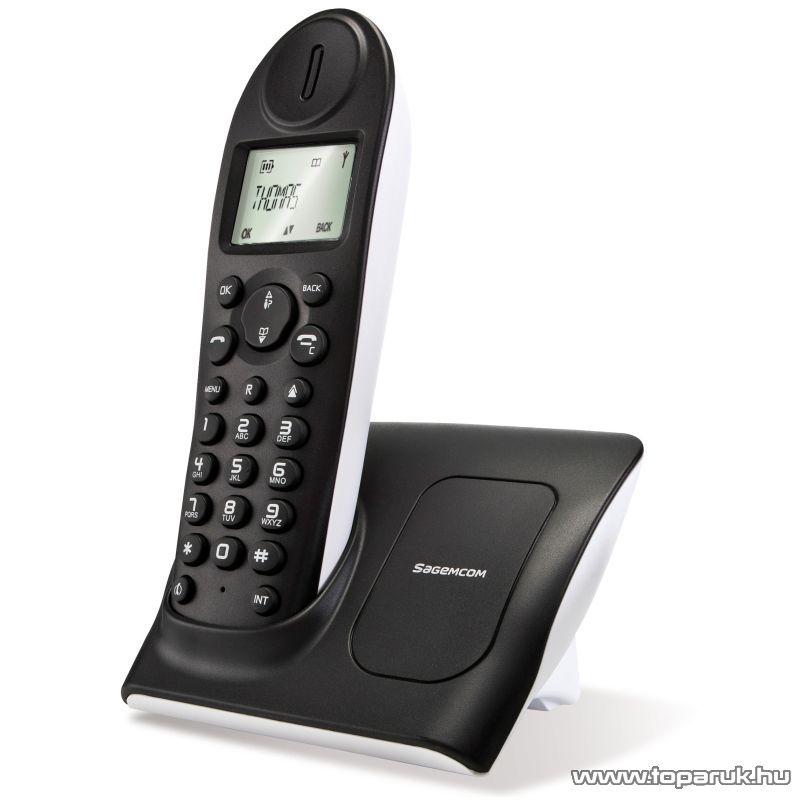 SagemCom D14T Vezeték nélküli DECT telefon - készlethiány