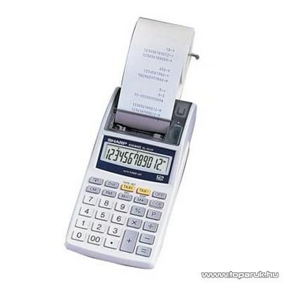 Sharp EL1611E Szalagos számológép