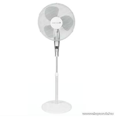 Tarrington House SF4110 R Álló ventilátor + távirányító, 40 cm, 45W, fehér