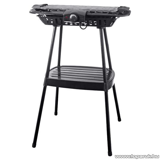 Tarrington House STG-2100 Asztali / állványos elektromos grill (BQS 2850 helyettesítő) - készlethiány