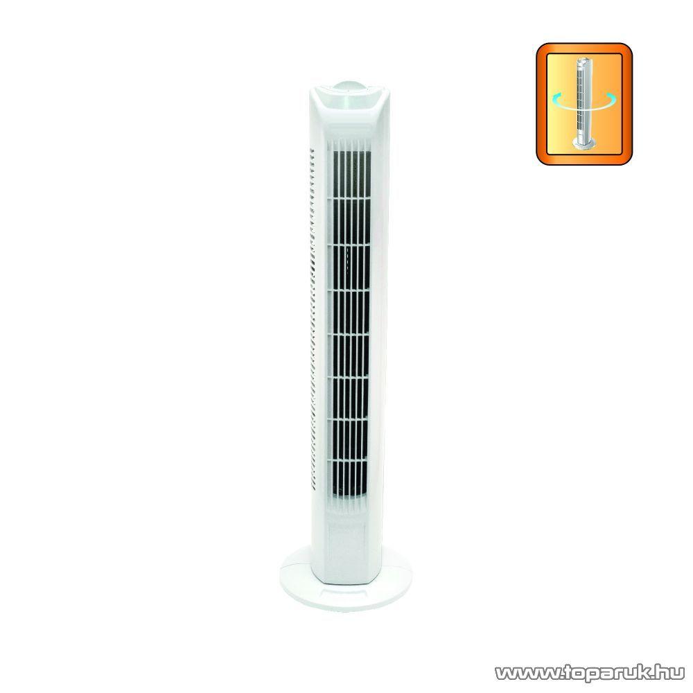 FairLine TF800 Torony (oszlop) ventilátor, 45W, fehér - készlethiány