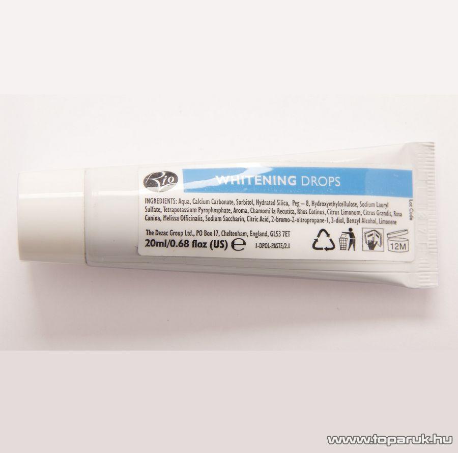 Rio Fehérítő, polírozó paszta DPOL3 fogkő eltávolító és polírozó szetthez, 20 ml