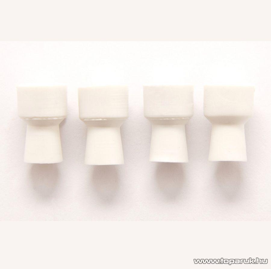 Rio Speciális gumi tisztító fej DPOL3 fogkő eltávolító és polírozó szetthez, 4 db / csomag