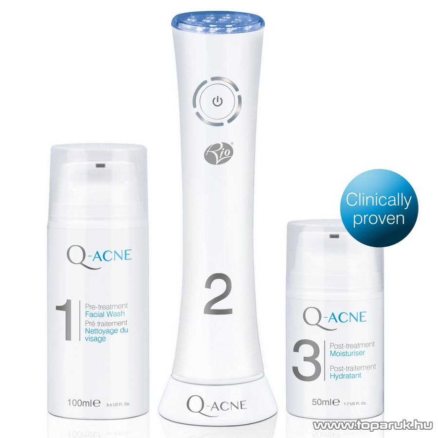 Rio LITE3 Q-ACNE fejlett kékfény terápiás akne kezelő rendszer