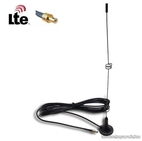 Külső 3G, 4G (LTE) antenna mobilinternethez, SMB csatlakozással