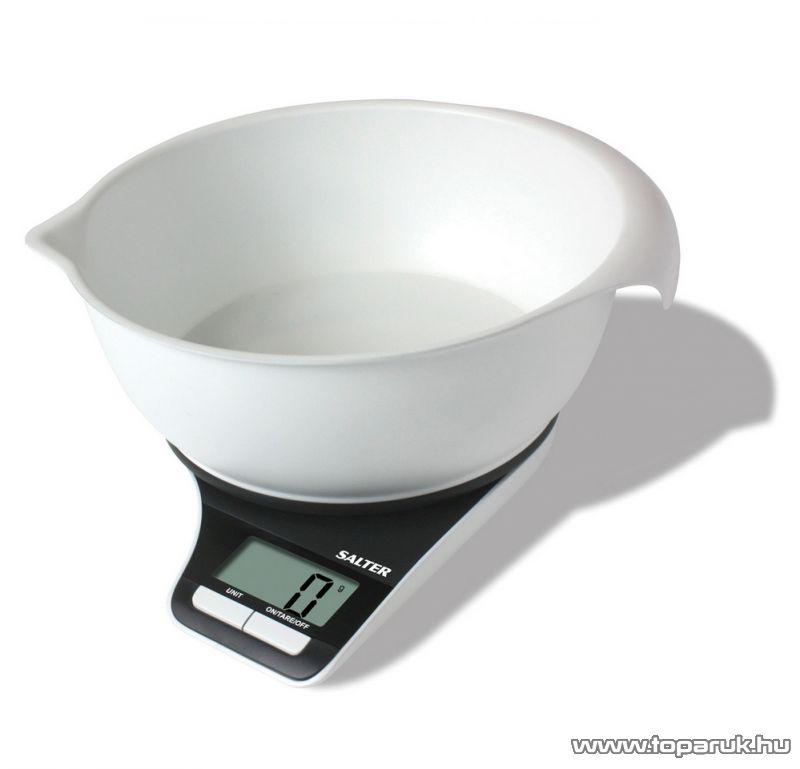 Salter 1089 Aquatronic konyhai mérleg, 15 év garanciával