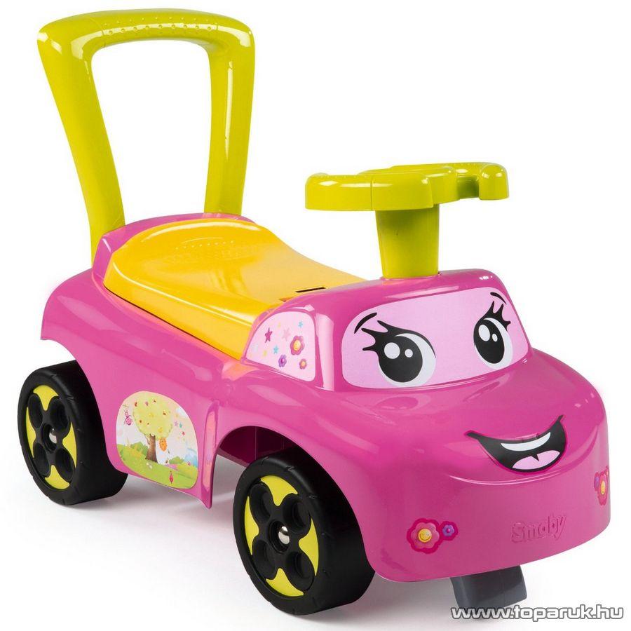 Smoby Auto bébitaxi - rózsaszín (7600443016) - Megszűnt termék: 2015. November
