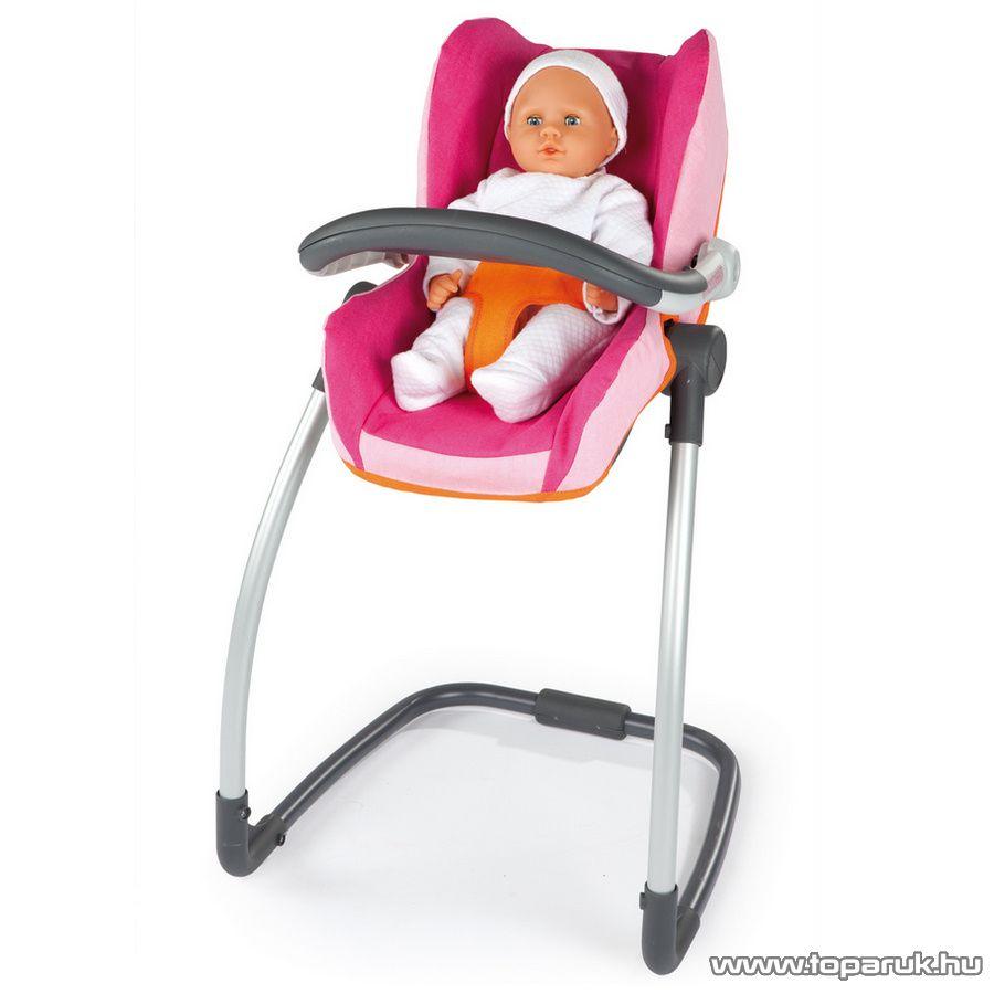 Smoby Bébé Confort Etetőszék baba hordozóval (7600550690) - Megszűnt termék: 2014. November