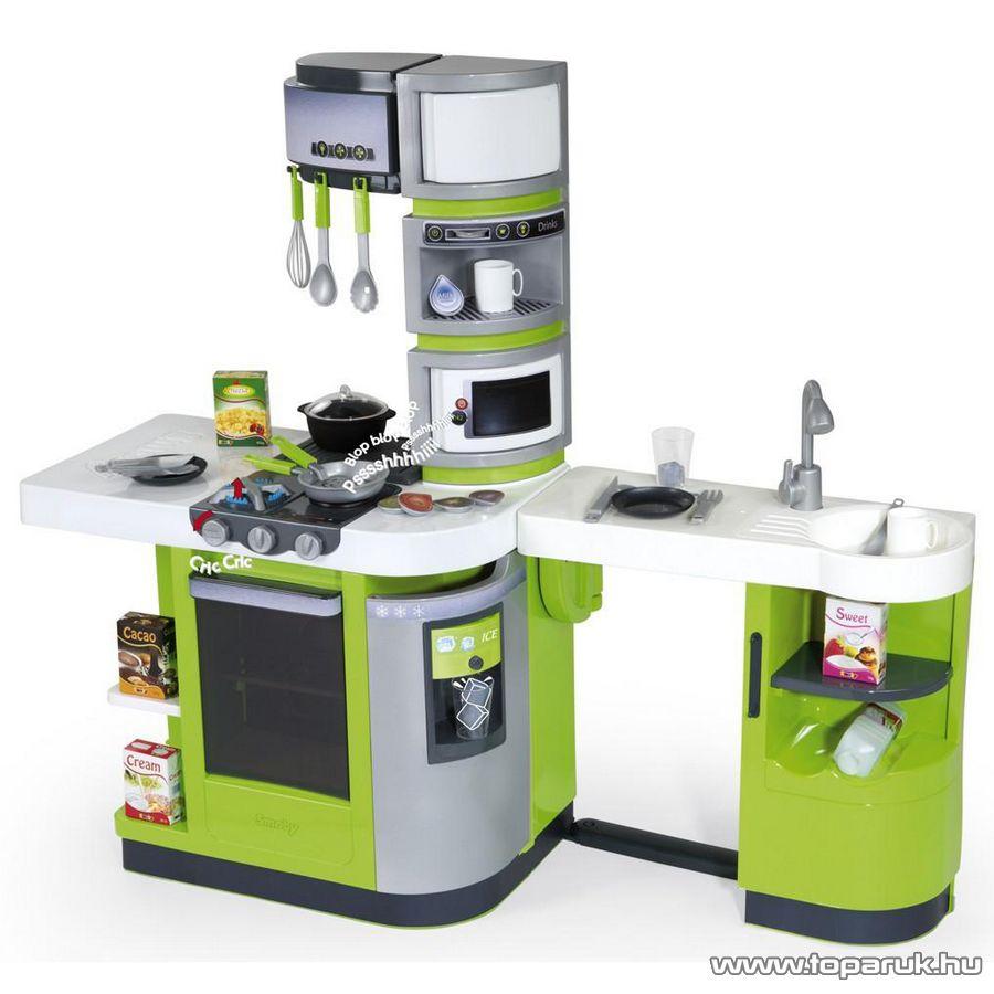 Smoby Cook Master játék konyha, zöld (7600024252) - készlethiány