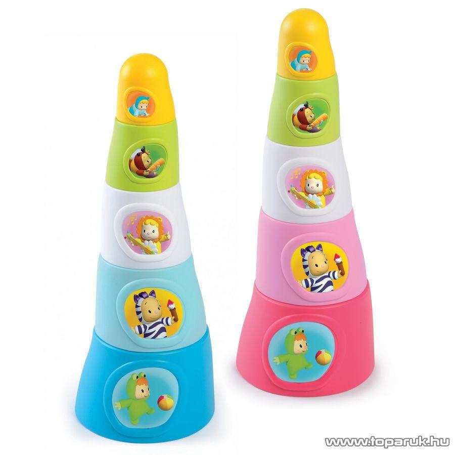 Smoby Cotoons Foglalkoztató torony, 2 féle színben! (7600211317) - készlethiány