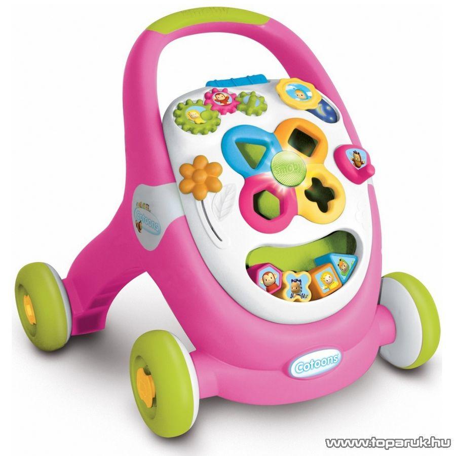 Smoby Cotoons Készségfejlesztő járássegítő, 2 féle szín! (7600211376)