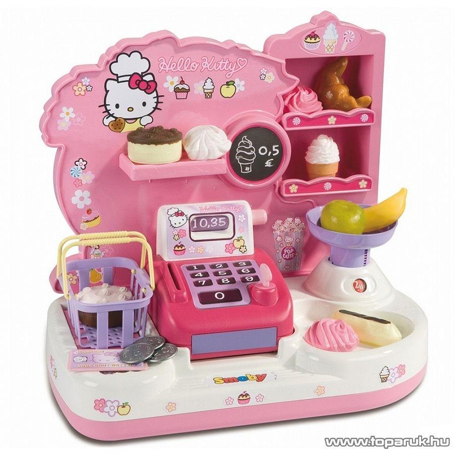 Smoby Hello Kitty Mini cukrászda (7600024381) - Megszűnt termék: 2015. November