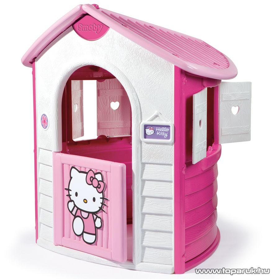 Smoby Hello Kitty Natúr ház, játszóház (7600310430) - Megszűnt termék: 2015. Május