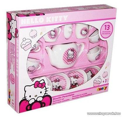 Smoby Hello Kitty Porcelán teás szett (7600024784) - készlethiány
