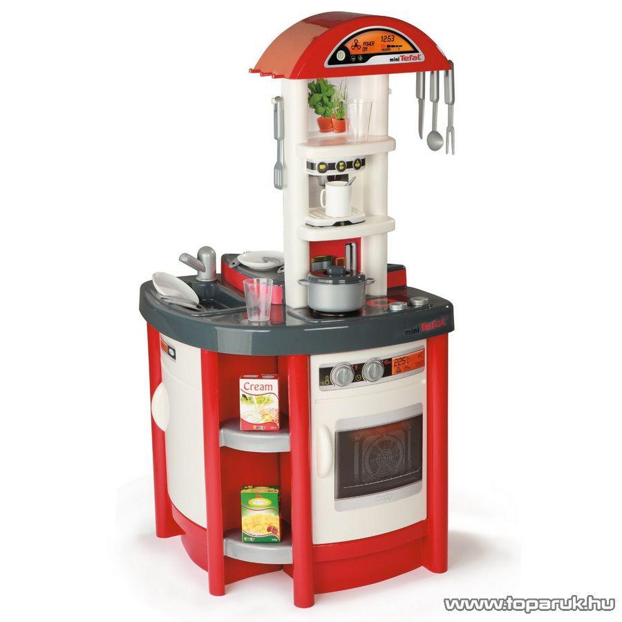 Smoby Tefal Stúdió játék konyha - piros (7600024174) - Megszűnt termék: 2015. November