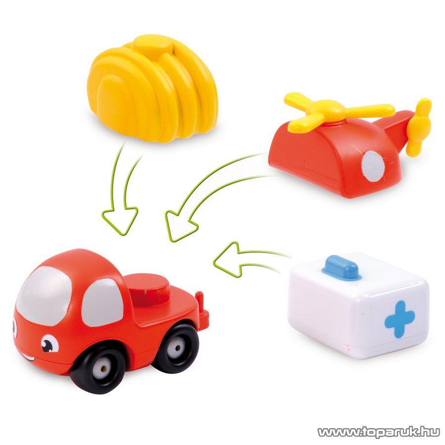 Smoby Vroom Planet VP Mini Clip buborék autó 2012 (7600211290) - készlethiány