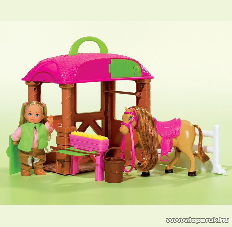 Steffi Love Évi baba kicsi lóistállója (105737463) - készlethiány