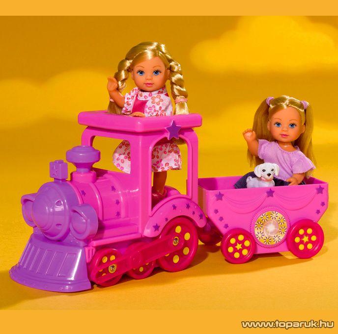Steffi Love Évi baba vonattal (105731819) - Megszűnt termék: 2015. November