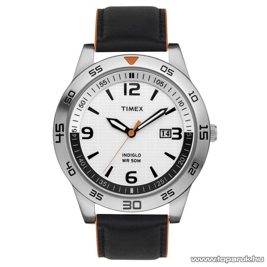 Timex T2N695 Sports analóg férfi karóra, ajándék kuponnal