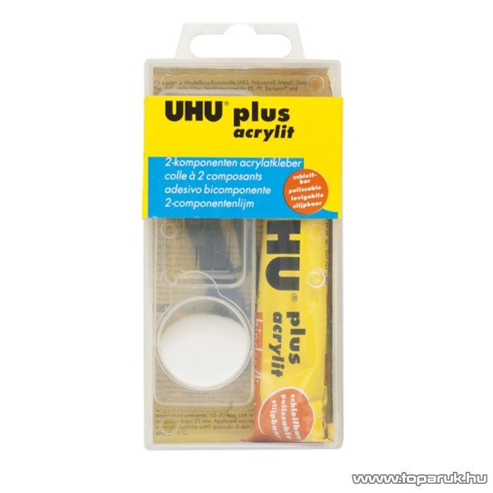 UHU 2-komponensű akrilát ragasztó, 30g (U48315)