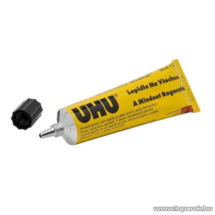 UHU Univerzális ragasztó, 35ml (U41332) - készlethiány