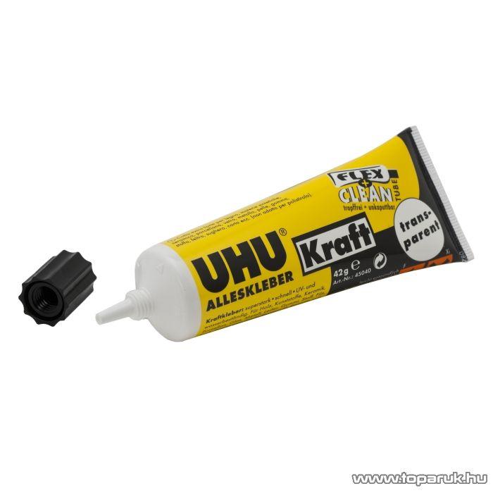 UHU Univerzális ragasztó, transparent, 42 g (U45040)