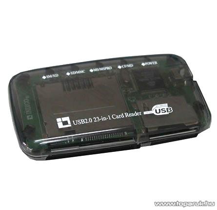 XPERT Kártyaolvasó X-502 Unverzális kártyaolvasó minden kártyatípushoz, USB 2.0 csatlakozás - készlethiány