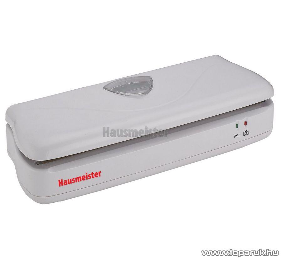 Hausmeister HM 6655 Fóliahegesztő, vákuum csomagoló