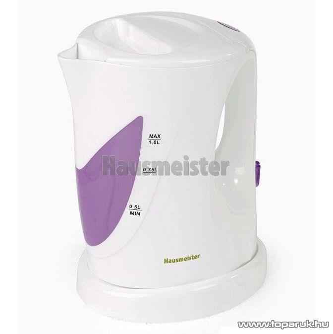 Hausmeister HM 6411 1 literes vezeték nélküli vízforraló - készlethiány