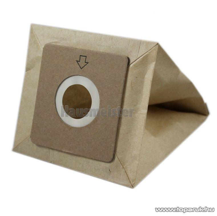 Hausmeister Papír porzsák HM 2048 porszívóhoz, 5 db / csomag - készlethiány