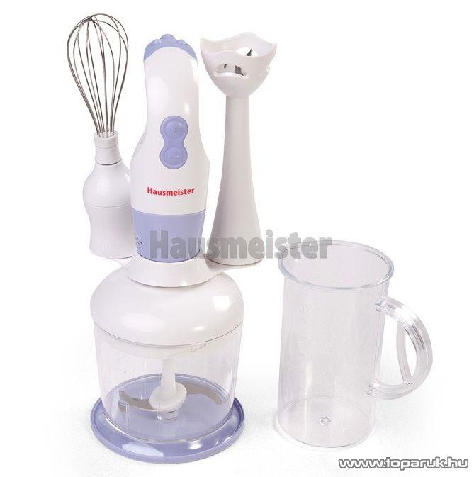 Hausmeister HM 5505 Botmixer, habverő és aprító - készlethiány