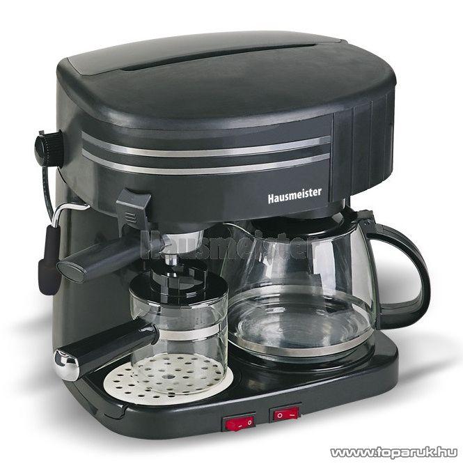 Hausmeister HM 6210 10 csészés kombi kávéfőző - készlethiány