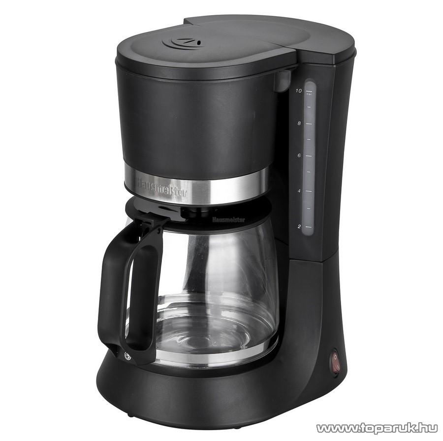 Hausmeister HM 6355 10-12 csészés teafőző, kávéfőző