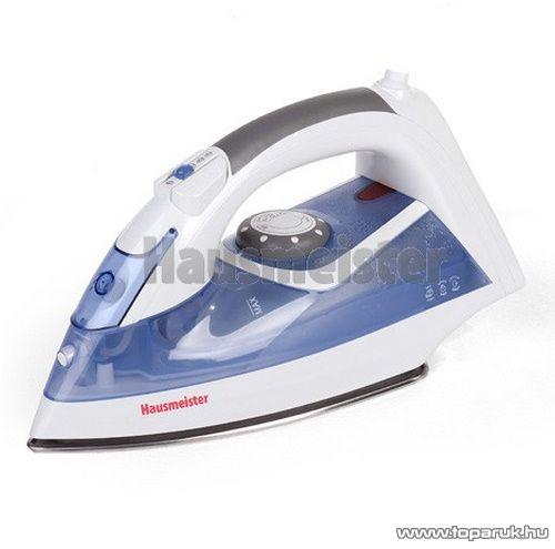 Hausmeister HM 3010 Inox talpú száraz és gőzölős vasaló - készlethiány
